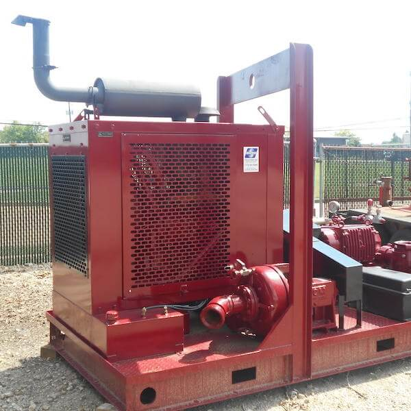 MCM Centrifugal Fill Pump & Giant Triplex Pump | Boatman